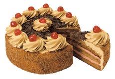Торт с сливк Стоковые Изображения