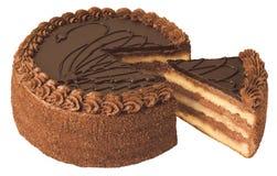 Торт с сливк Стоковые Фото