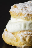 Торт с сливк Стоковое Изображение RF