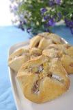Торт с яблоком Стоковые Изображения