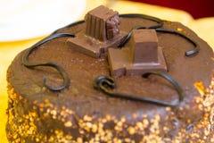 Торт с tefillin Стоковая Фотография