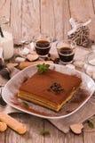 Торт тирамису стоковая фотография rf