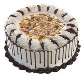 Торт торт мороженого на предпосылке Стоковое Фото