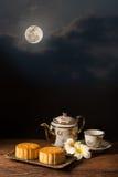 Торт луны Стоковое Фото