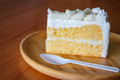 Торт дуриана Стоковая Фотография