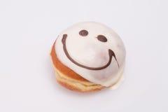 Торт улыбки (донут). Стоковые Изображения RF