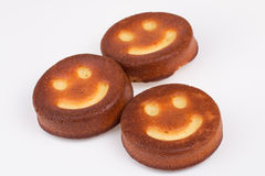 Торт улыбки. Стоковые Фото