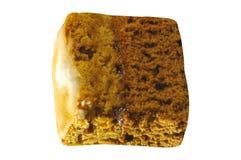 Торт фунта изолированный на белизне стоковые изображения rf