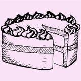 Торт фунта иллюстрация штока