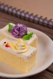 Торт цветка Стоковые Изображения
