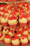 Торт чашки стоковое изображение