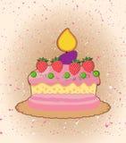 Торт шаржа бесплатная иллюстрация