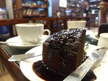 Торт шоколада стоковые фотографии rf