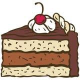 Торт шоколада Стоковое Изображение