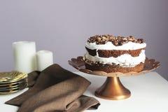 Торт шоколада Стоковая Фотография RF