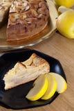 торт яблока Стоковая Фотография RF