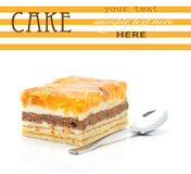 торт яблока Стоковое Изображение RF