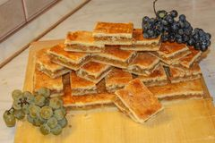Торт Яблока домодельный Стоковые Фото