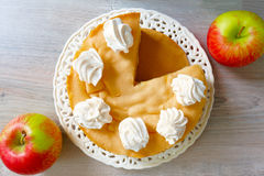 Торт Яблока Стоковые Фото