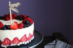 Торт ягоды Стоковое Изображение RF