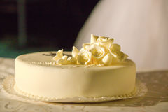 Торт для вечеринки по случаю дня рождения Стоковое Изображение