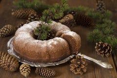 Торт Bundt стоковое изображение