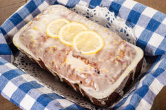 Торт cofffee лимона голубики Стоковое Изображение RF