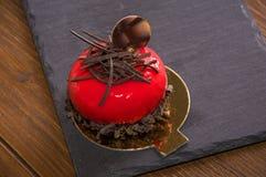 Торт Glyassazhe красный стоковые изображения rf