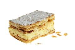 торт napoleon Стоковые Фотографии RF