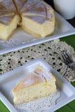 Торт ½ Souffleã€€ï ƒheese Стоковые Изображения RF