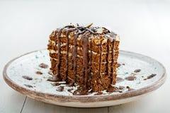 Торт Spartak шоколада Стоковые Изображения RF