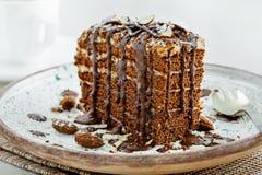 Торт Spartak шоколада Стоковое Изображение RF