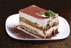 Торт Tiramisu Стоковые Изображения RF