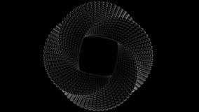 Торус Mobius сделанный шариков перевод 3d иллюстрация штока