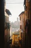 Тоскана - Сиена Стоковое Изображение