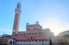 Тоскана - Сиена Стоковые Изображения