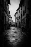 Тоскана - Castellina в Chianti стоковое фото rf