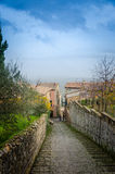 Тоскана - Montalcino Стоковая Фотография RF