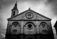 Тоскана - Pienza Стоковая Фотография