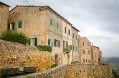 Тоскана - Pienza Стоковые Изображения