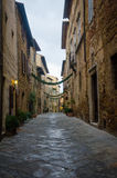 Тоскана - Pienza Стоковое Фото