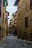 Тоскана - Pienza Стоковая Фотография RF