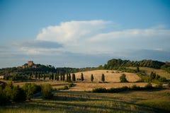 Тосканский замок стоковое изображение