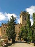 Тосканский замок 01 Стоковое Изображение