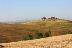 Тосканский сельский дом Стоковая Фотография