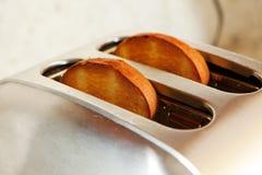 тостер отрезанный хлебом Стоковое Изображение RF