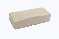 Тофу изолированное на белизне Стоковое фото RF