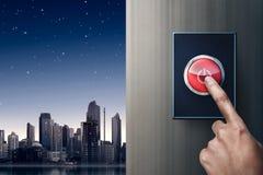 Точение с подручника с переключателя на стене Стоковое Изображение RF