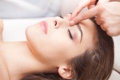 Точечный массаж Стоковое фото RF