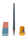 точилка для карандашей истирателя Стоковая Фотография